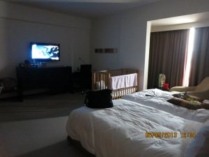 One of the bedroom at our G hotel Suite