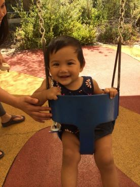 We love baby swings!