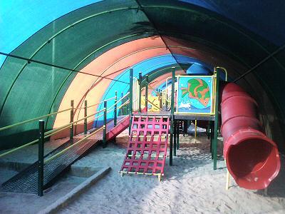 Sun-shade playground Photo credits: Lansdale Farm School