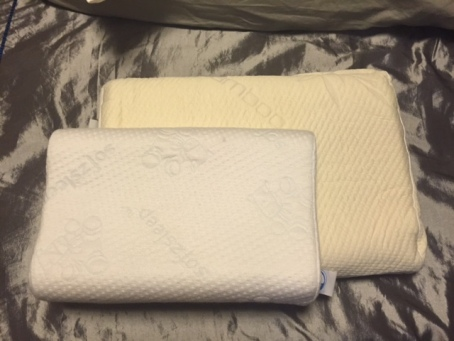 Adult Contour Pillow vs Junior S Pillow