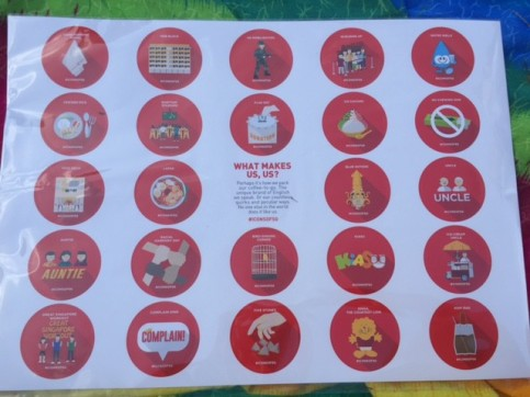SG50 Stickers and Calendar