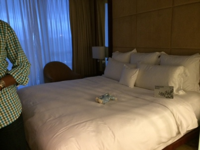 Room 2 with a king size bed