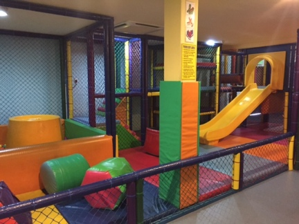 Toddler Play Area (Separate from the big play area and slides)