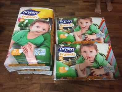 From Jul onwards, Dryper Drypantz is available in Mega Packs - with pack counts as follows – M-60pcs, L-48pcs, XL-42pcs, XXL- 36pcs