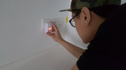 Checking power points for proper wiring connections.jpeg