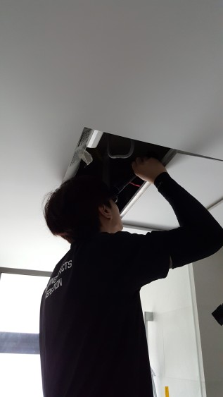 Checking services in false ceiling.jpeg