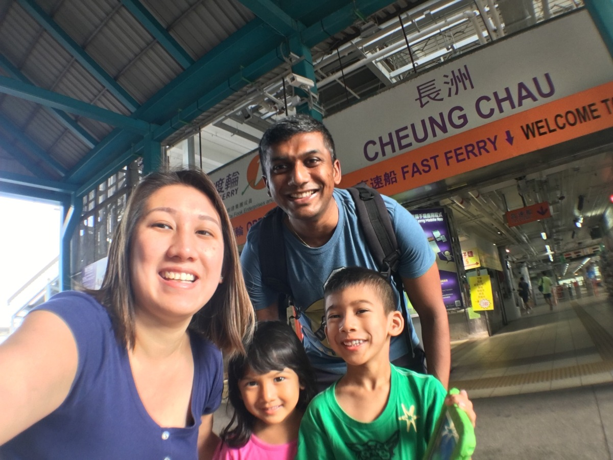 Cheung Chau with Kids - Hong Kong Oct 2016